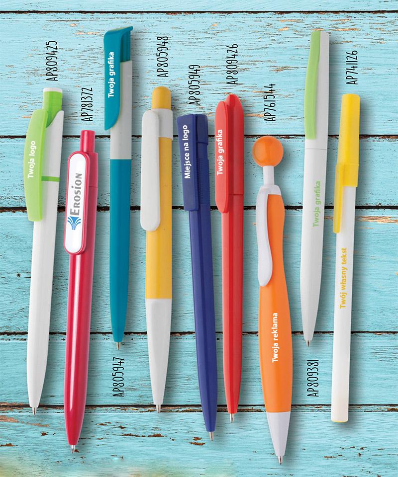 Promocja - Długopisy plastikowe z Twoją grafiką!!!