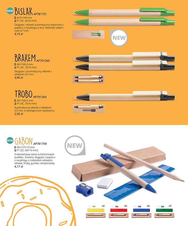 Promocja - Długopisy ekologiczne z Twoją grafiką!!!