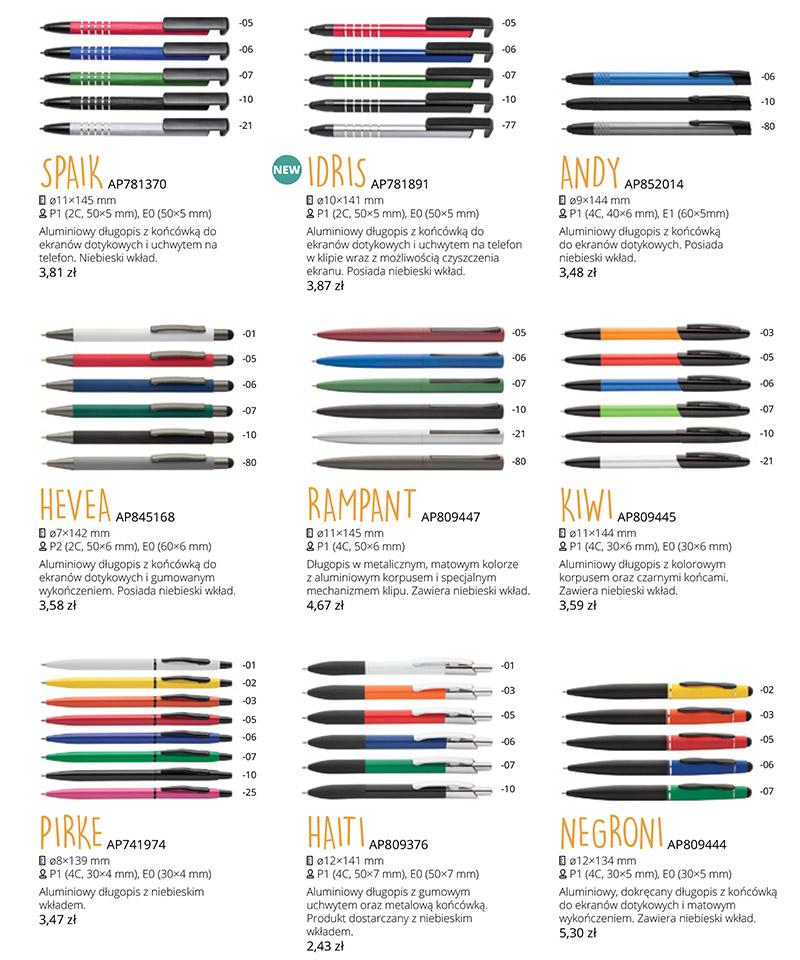 Promocja - Długopisy aluminiowy z Twoją grafiką!!!