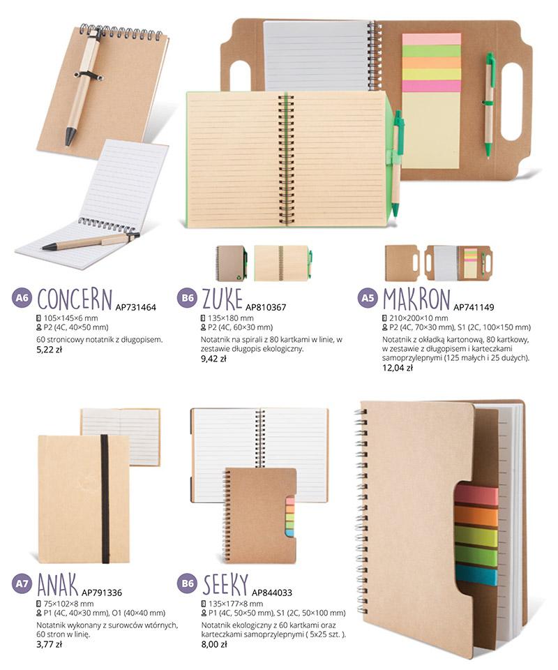 Promocja - Ekologiczne notesy z Twoją grafiką!!!